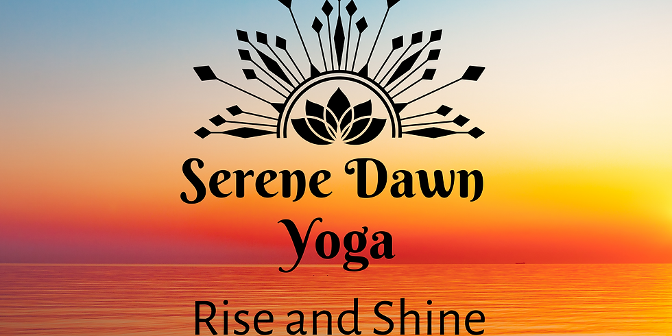 Rise and Shine! Saturday Morning Yoga (April 10, 10AM)