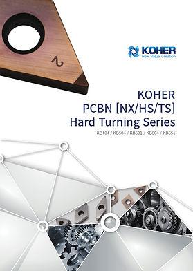 KOHER PCBN Hard Turning Series Catalouge