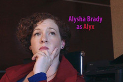 As Alyx in (Barely) Managing