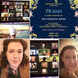ThePrincess Bride -Zoom Reading