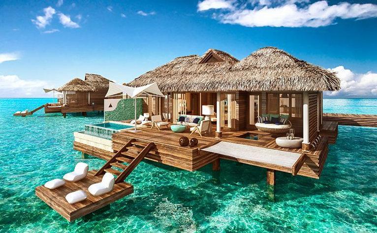 All-Inclusive Overwater Villas in the Ca