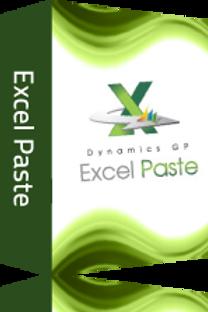 Dynamics GP Excel Paste