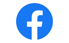 A button that redirects to Kelly's Persian Food's Facebook page