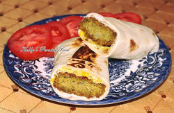Kelly's Falafels makes the most delicious wraps!