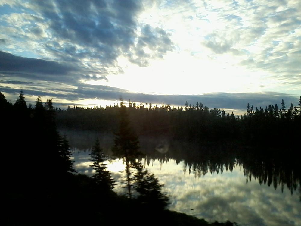 Lac Canada en bus