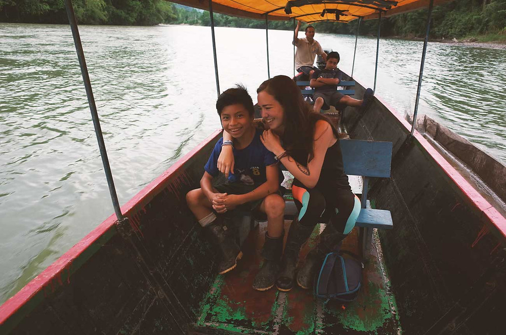 balade en canoa