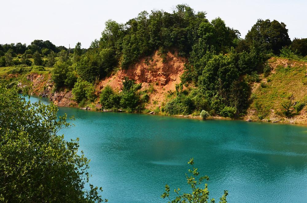 lac bleu mayenne