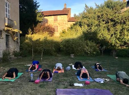 Week-end retraite Yoga : le bilan