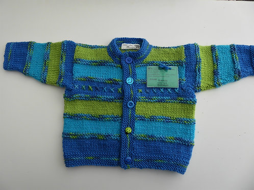 Cardigan for Boys or Girls, 3-6 month