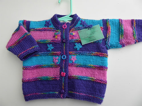 Baby's Knitted Cardigan, 3-6 month
