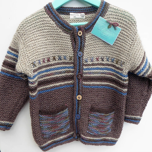 1 year old Boys knitted Jacket