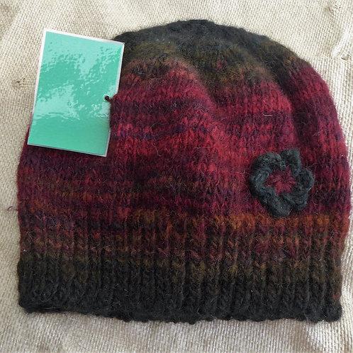 Ponytail Hat - Possum/Wool
