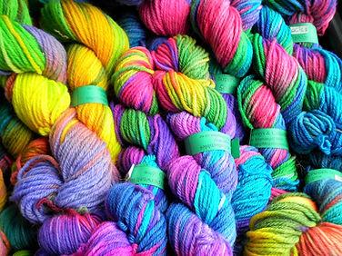 Colourful Knitting Wool