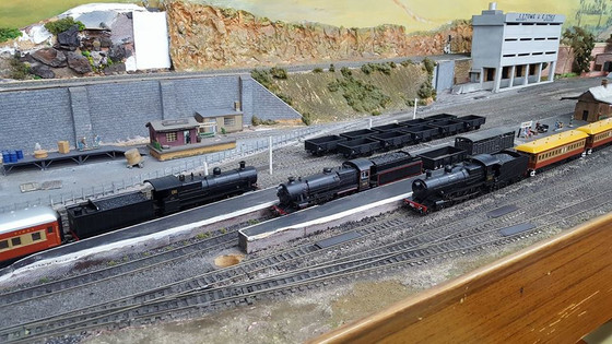 Steam Loco's in Abundance at our Friday Running Session