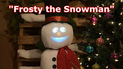 Frosty the Snowman - Singing Snowman Effect