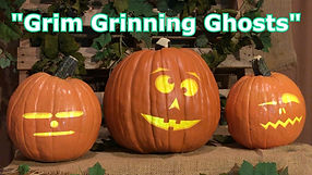 Grim Grinning Ghosts - Singing Pumpkins