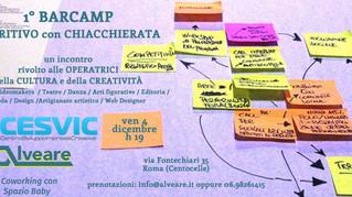 Barcamp : un aperitivo insieme per orientarsi