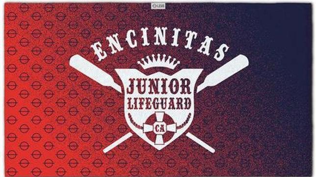 Encinitas Jr. Lifeguard Towel