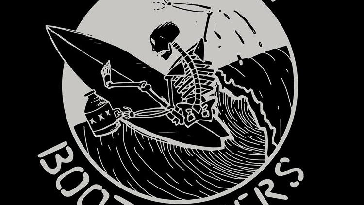 Moonlight Bootlegger Surfing Association T-Shirt