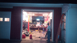 Long day in the shop
