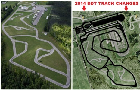 DDT track changes