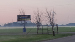 Early arrival at TMP (Cayuga)