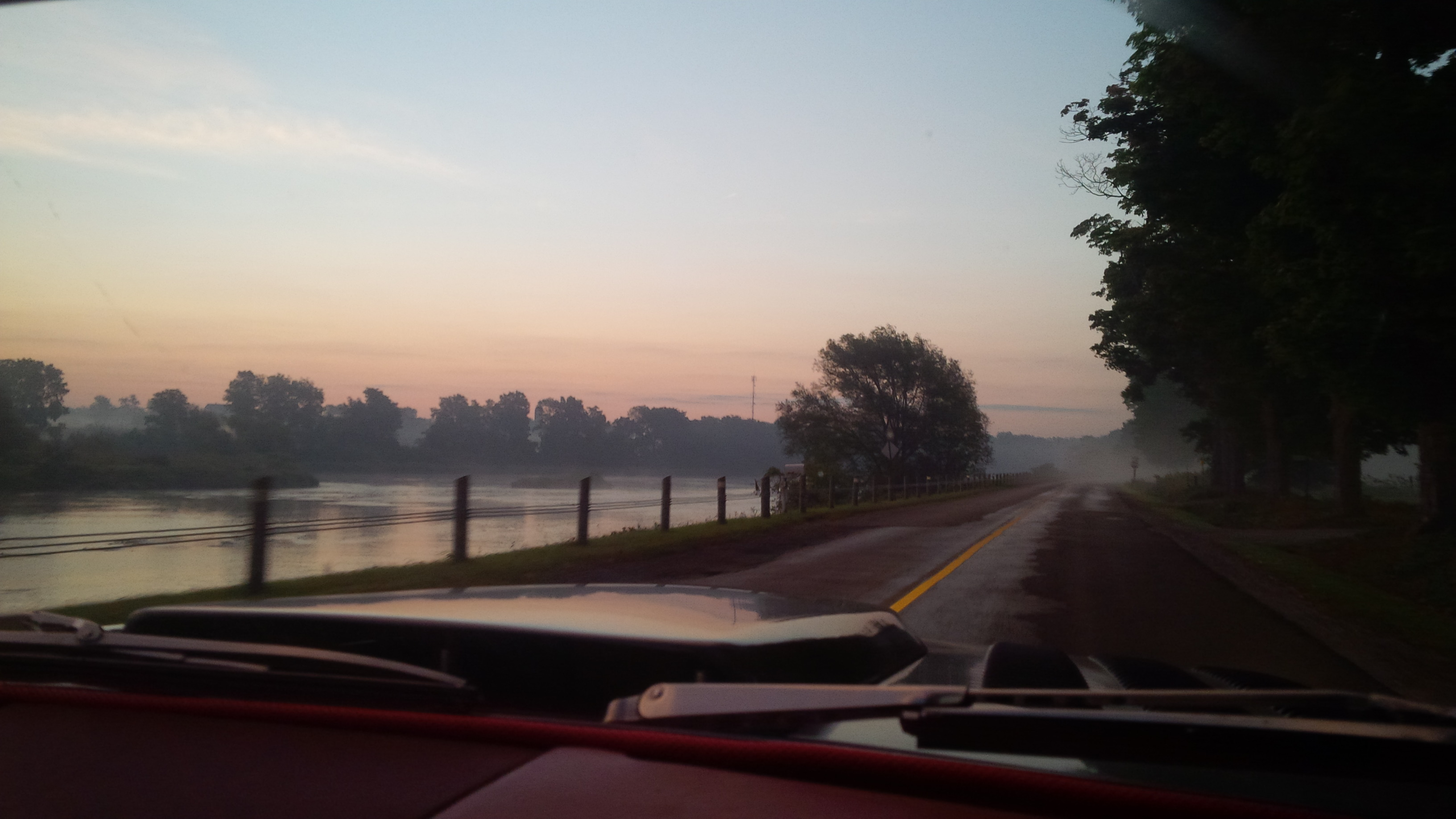 Drive along Grand River to TMP