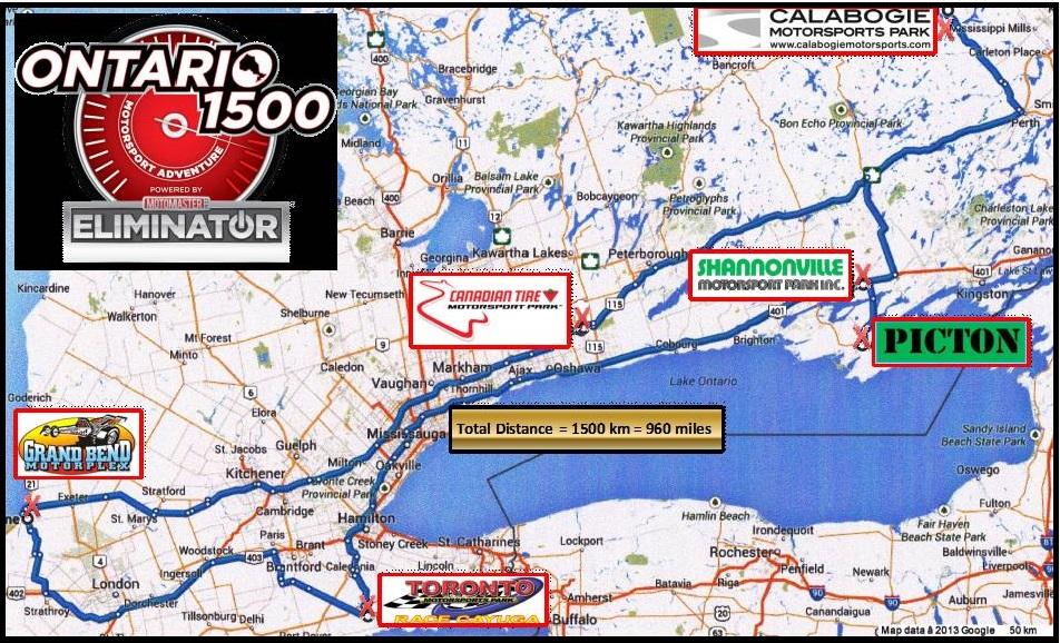 Ontario 1500 Route