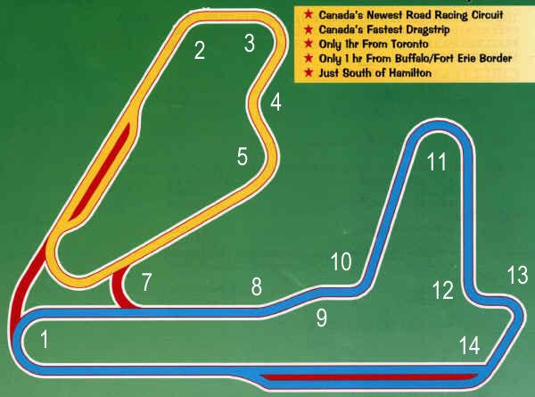 TMP (Cayuga) Track Maps
