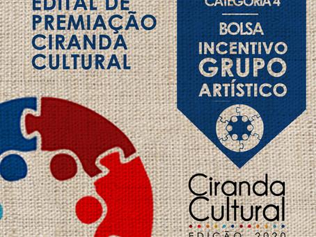 Conheça os selecionados para o Prêmio Grupo Artístico