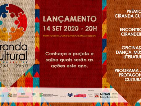 LANÇAMENTO DO PROJETO CIRANDA CULTURAL 2020