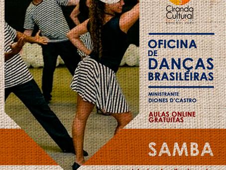 Não teve Carnaval, mas teve samba no Ciranda