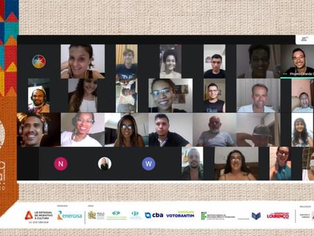 Workshop é a primeira ação do Ciranda Cultural em 2021