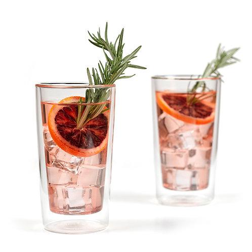 Set 2 verres à cocktail