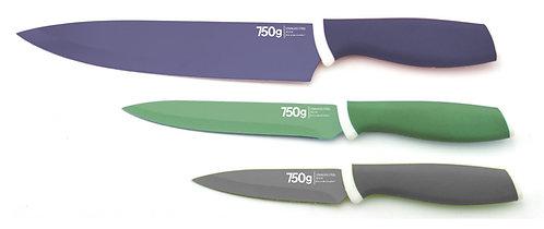 Couteaux RAINBOW x3
