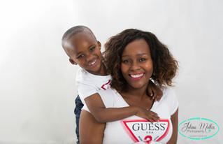 Mother and son session