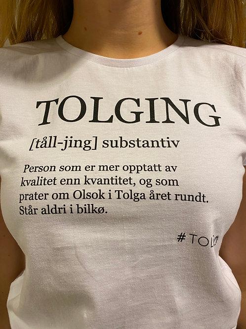 TOLGING HVIT (herre)