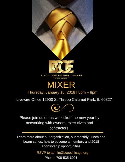 BCOE 1st Mixer