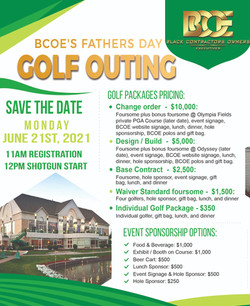 Odyssey Fathers Day Golf Outing