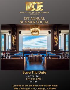 1st Summer Social