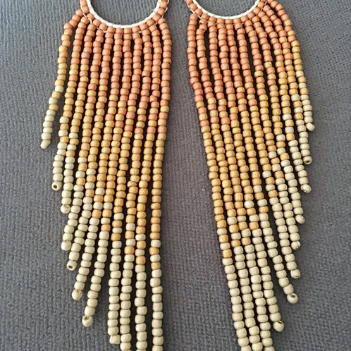 Sunrise Fringe Earrings
