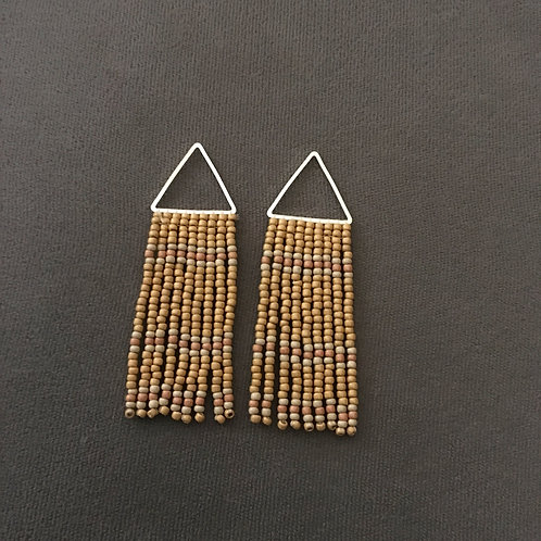 Triangle Fringe Earring