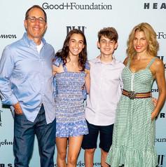 Jerry Seindeld, Jessica Seinfeld and children