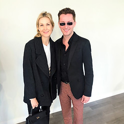 Jelly Rutherford, Marsin Mogielski attend Frederick Anderson Collection 2020 Show