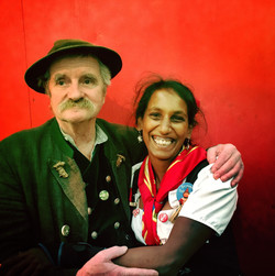 Ferdl Schuster & Shubha Poppenwimmer