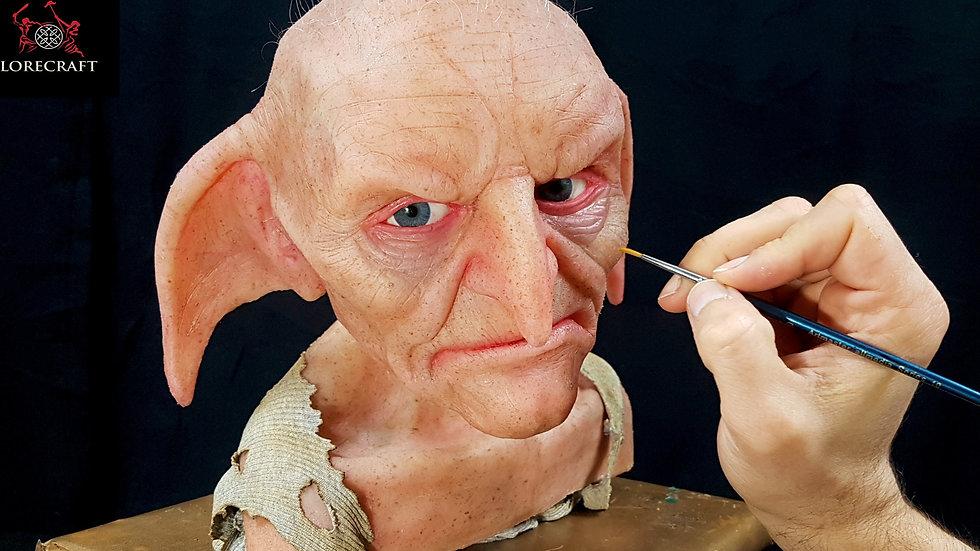 Kreacher sculpture - Harry Potter - hyper real silicone bust