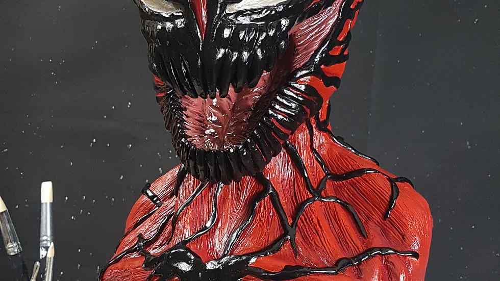 Carnage Sculpture, Bust, 1 of 1