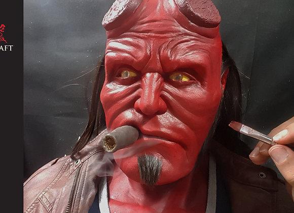 Hellboy bust, lifesize, 1 of 1