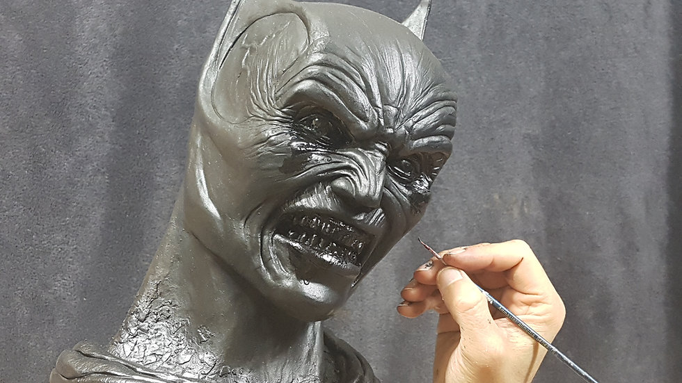 Batman Demon Bust