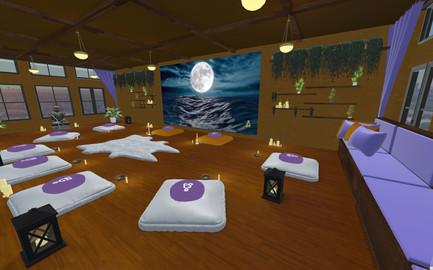 breathe meditation room - Full Moon Journey